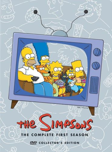 The Simpsons: The Complete First Season [3 Discs] [DVD] 1748059