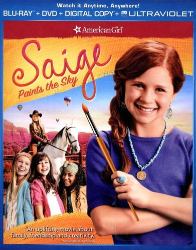 An American Girl: Saige Paints the Sky [2 Discs] [Includes Digital Copy] [UltraViolet] [Blu-ray/DVD] [2013] 1749622
