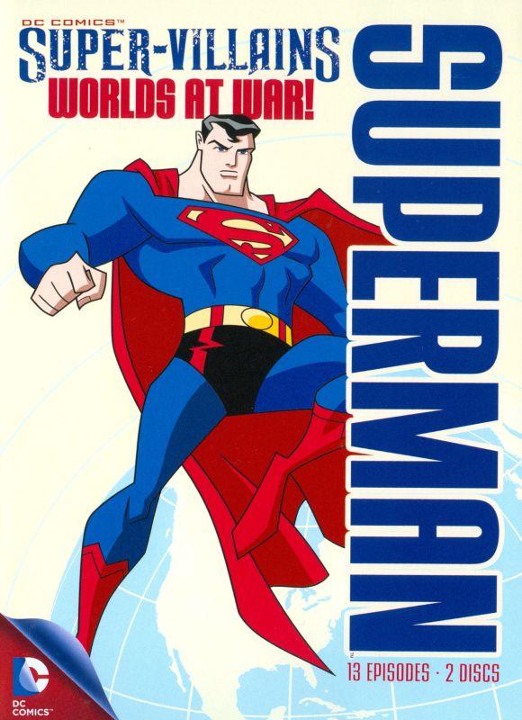 Superman Super-Villains: Worlds at War! [DVD] 1749695