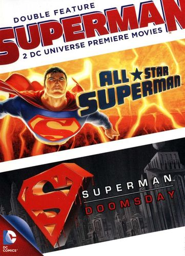 Superman Double Feature: All Star Superman/Superman - Doomsday [2 Discs] [DVD] 1749704