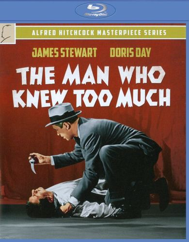 The Man Who Knew Too Much [Blu-ray] [1956] 1752483