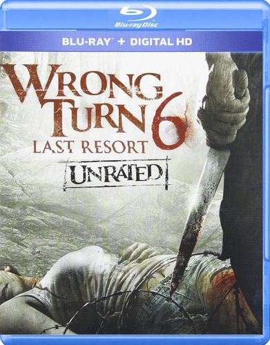 Wrong Turn 6: Last Resort [Unrated] [Blu-ray] [2014] 1765032