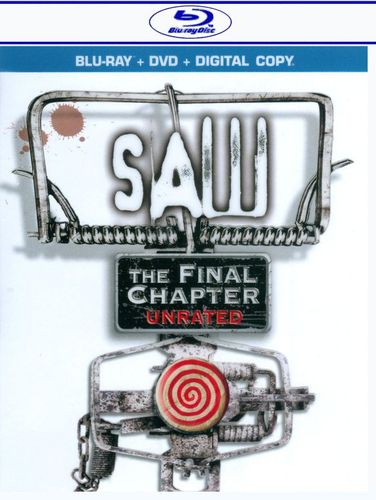 Saw: The Final Chapter [2 Discs] [Includes Digital Copy] [Blu-ray/DVD] [2010] 1767769