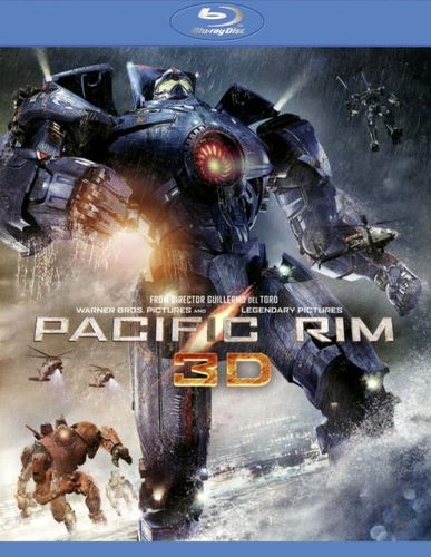 Pacific Rim [3 Discs] [Includes Digital Copy] [UltraViolet] [3D] [Blu-ray/DVD] [Blu-ray/Blu-ray 3D/DVD] [2013] 1770028