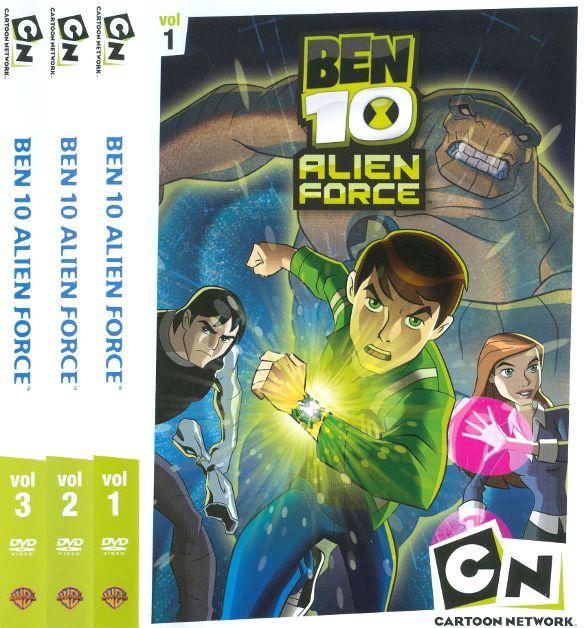 Ben 10: Alien Force, Vols. 1-3 [3 Discs] [DVD] 17771323