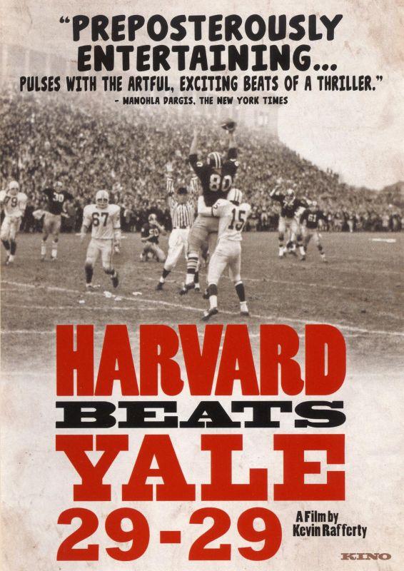 Harvard Beats Yale 29-29 [DVD] [2008] 17787361