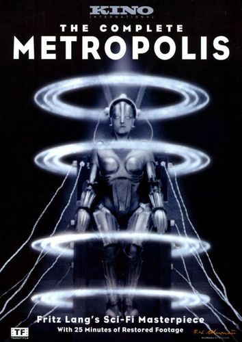 The Complete Metropolis [Limited Edition] [DVD] [1927] 1780117