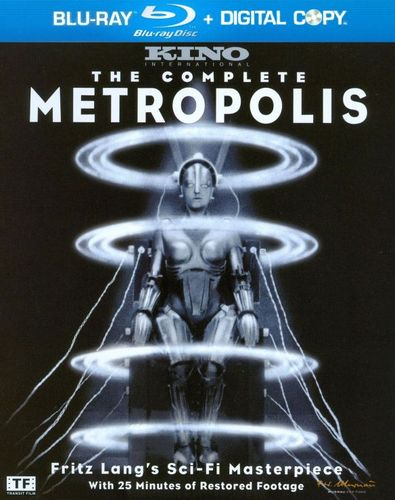The Complete Metropolis [Limited Edition] [Blu-ray] [1927] 1780296