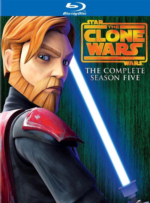 Star Wars: The Clone Wars - The Complete Season Five [3 Discs] [Blu-ray] 1782008
