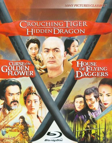 Crouching Tiger, Hidden Dragon/Curse of Golden Flower/House of Flying Daggers [3 Discs] [Blu-ray] 17847485
