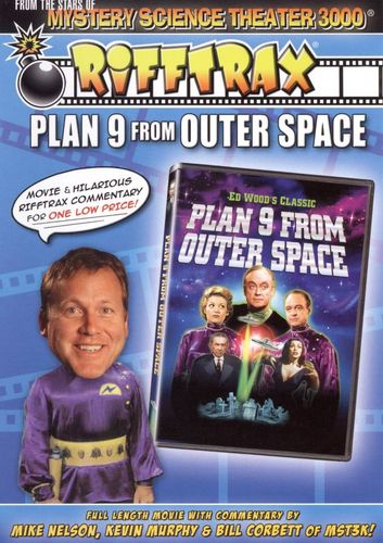 RiffTrax: Plan 9 from Outer Space [DVD] [1959] 17874089