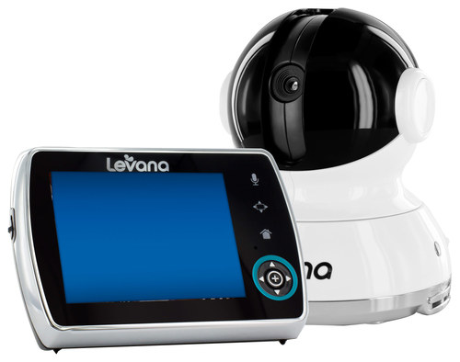 "Levana - Keera Wireless PTZ Video Baby Monitor with 3.5"" Screen - White 1793227"
