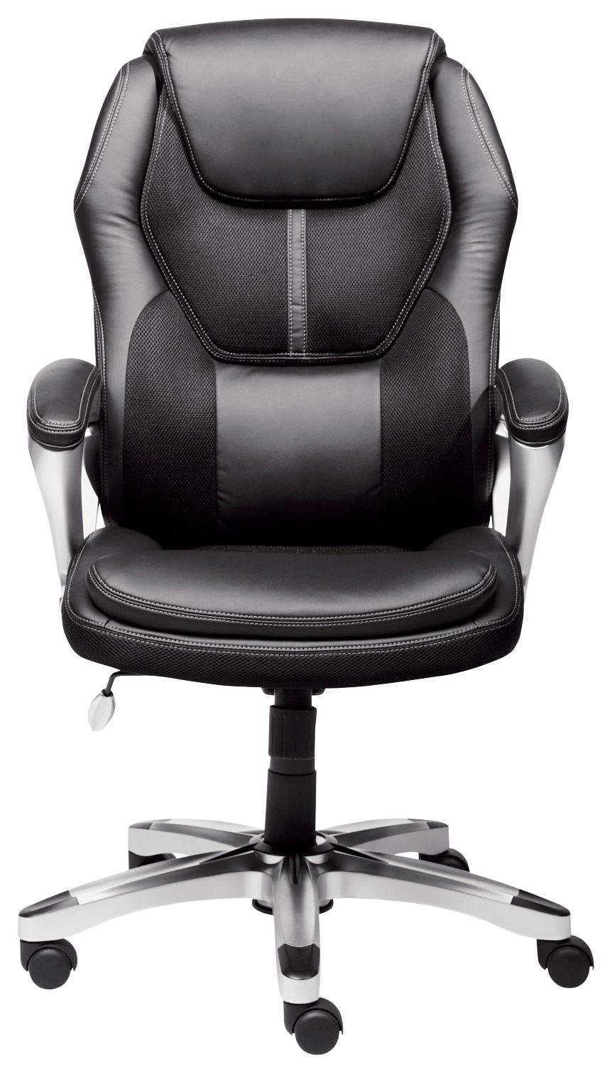 Serta - Executive Office Chair - Black