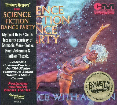 Science Fiction Dance Party: Dance with Action [CD] 18010331