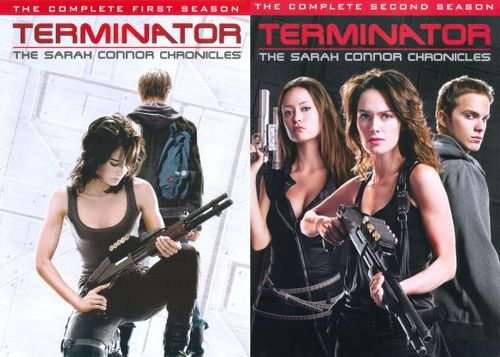 Terminator: The Sarah Connor Chronicles - The Complete Seasons 1 & 2 [9 Discs] [DVD] 18016923