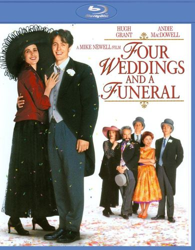Four Weddings and a Funeral [Blu-ray] [1994] 1820485