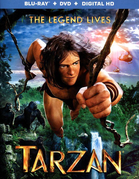 Tarzan [2 Discs] [Blu-ray/DVD] [2013] 1821114