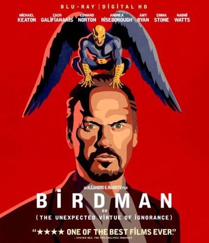 Birdman [Includes Digital Copy] [Blu-ray] [2014] 1821324