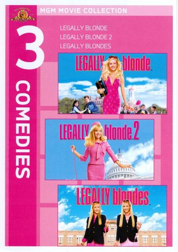 Legally Blonde Triple Feature [3 Discs] [DVD] 1821342