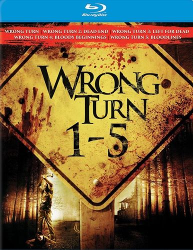 Wrong Turn 1-5 [5 Discs] [Blu-ray] 1821411