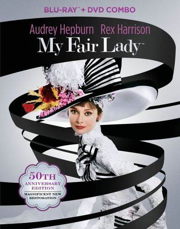 My Fair Lady [50th Anniversary Edition] [3 Discs] [Blu-ray/DVD] [1964] 1825078