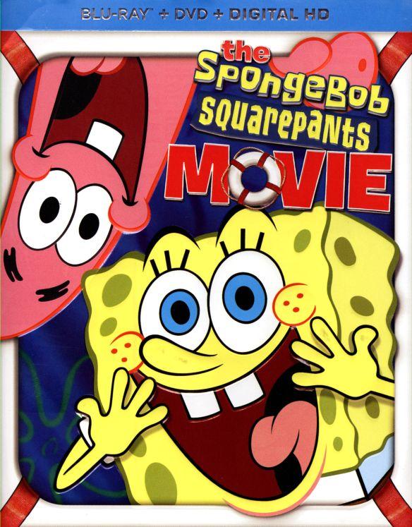 The SpongeBob SquarePants Movie [2 Discs] [Blu-ray] [2004] 1825101