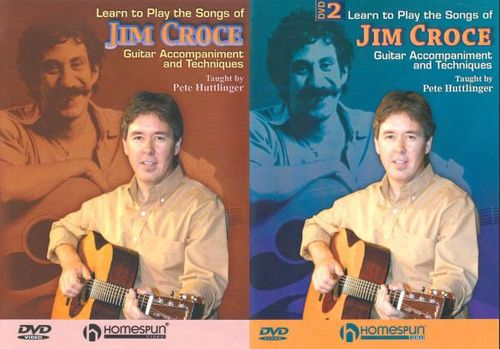 Pete Huttlinger: Learn to Play the Songs of Jim Croce, Vols. 1 & 2 [2 Discs] [DVD]