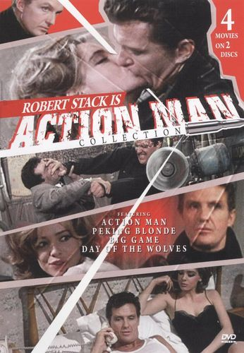 Action Man/Peking Blonde/The Big Game/The Day of the Wolves [2 Discs] [DVD] 18301761