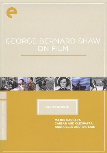 George Bernard Shaw on Film [Criterion Collection] [3 Discs] [DVD] 18338425