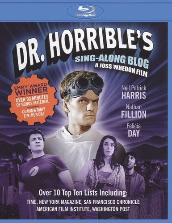 Dr. Horrible's Sing-Along Blog [Blu-ray] [2008] 18454316