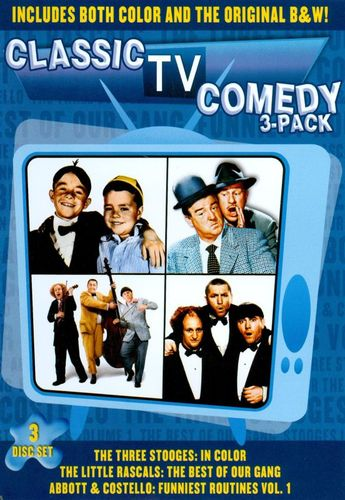Classic TV Comedy 3-Pack [3 Discs] [DVD] 18481449