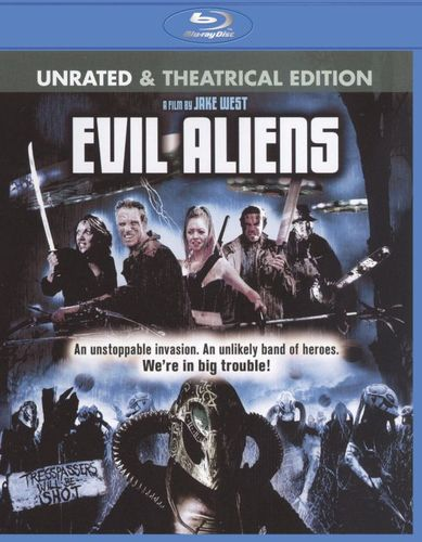 Evil Aliens [Rated/Unrated] [Blu-ray] [2005] 18561979
