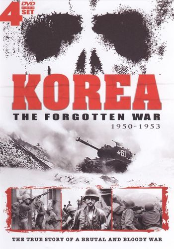 Korea: The Forgotten War 1950-1953 [4 Discs] [DVD] 18566665