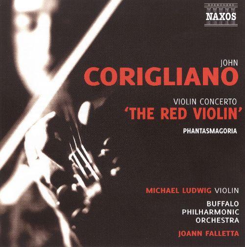 "Corigliano: Violin Concerto ""The Red Violin""; Phantasmagoria [CD] 18568248"