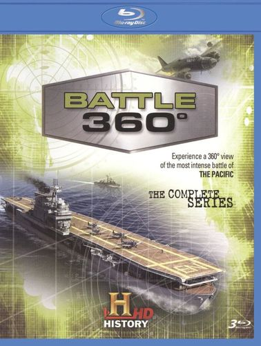 Battle 360: The Complete Season One [3 Discs] [Blu-ray] 18605424