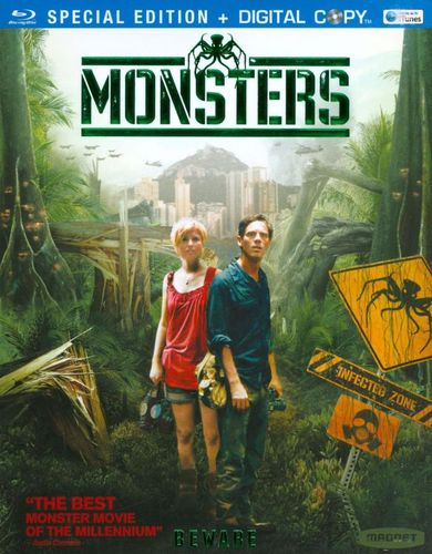 Monsters [Blu-ray] [Includes Digital Copy] [2010] 1865227