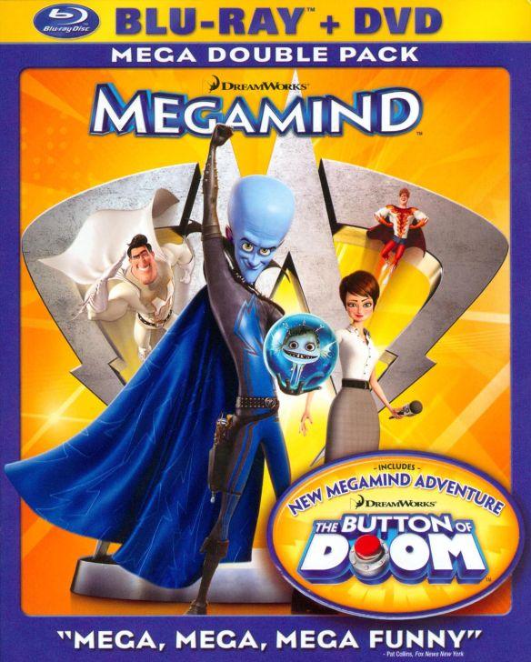 Megamind [Blu-Ray/DVD] [Blu-ray/DVD] [2010] 1865509