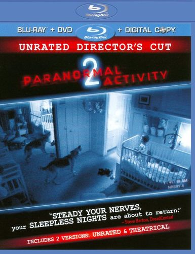Paranormal Activity 2 [Blu-ray/DVD] [Includes Digital Copy] [2010] 1865563
