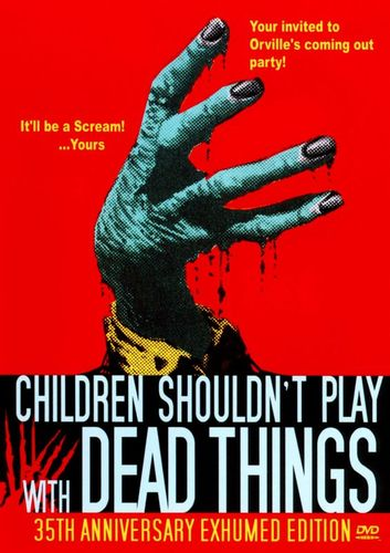 Children Shouldn't Play with Dead Things [DVD] [1972] 18747677