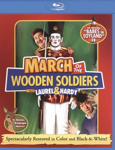 March of the Wooden Soldiers [Blu-ray] [1934] 18775503