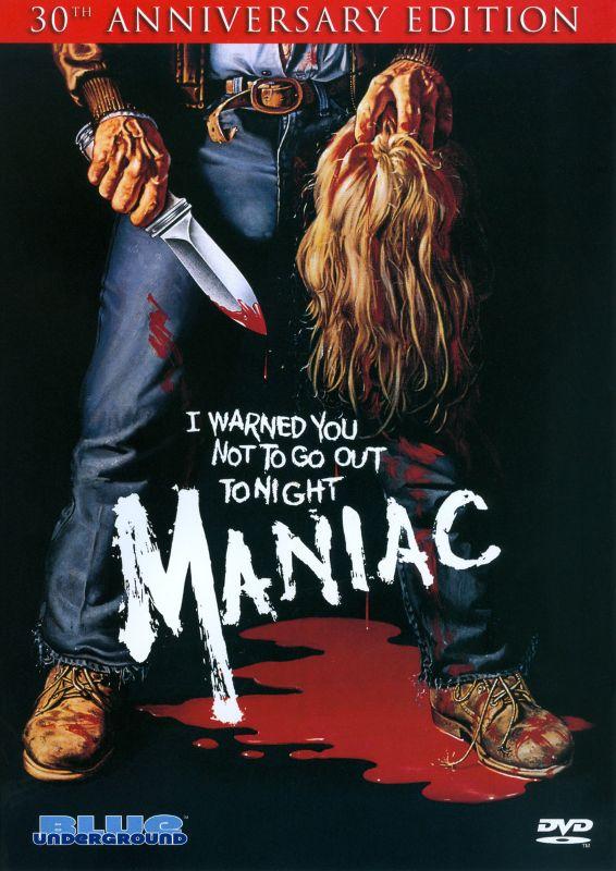 Maniac [30th Anniversary Edition] [2 Discs] [DVD] [1980] 18777771