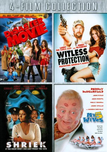 Disaster Movie/Witless Protection/Shriek If You Know What I Did Last Friday the 13th/My 5 Wives [4 [DVD] 18833947