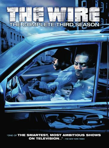 The Wire: The Complete Third Season [5 Discs] [DVD] 1888125