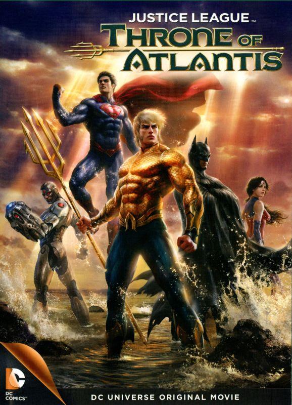Justice League: Throne of Atlantis [DVD] [2015] 1888249