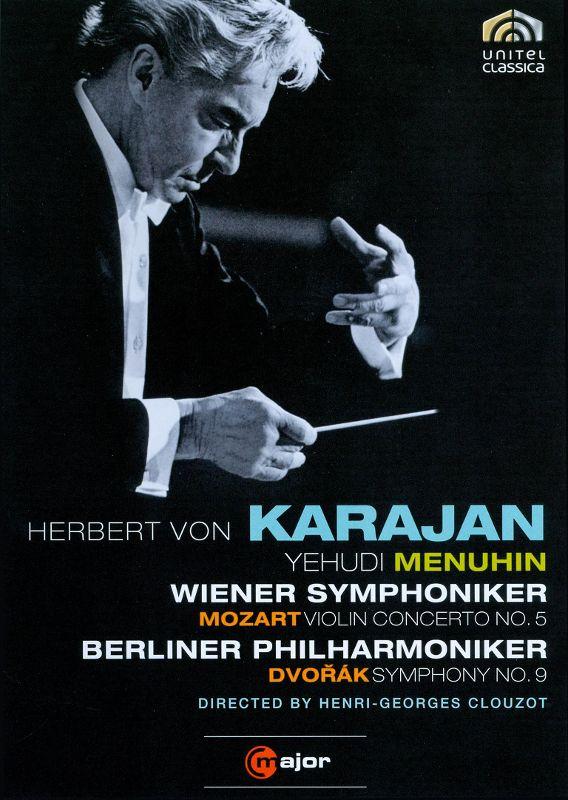 Herbert Von Karajan: Mozart - Violin Concerto No. 5/Dvorak - Symphony No. 9 [DVD] [1966] 18892675