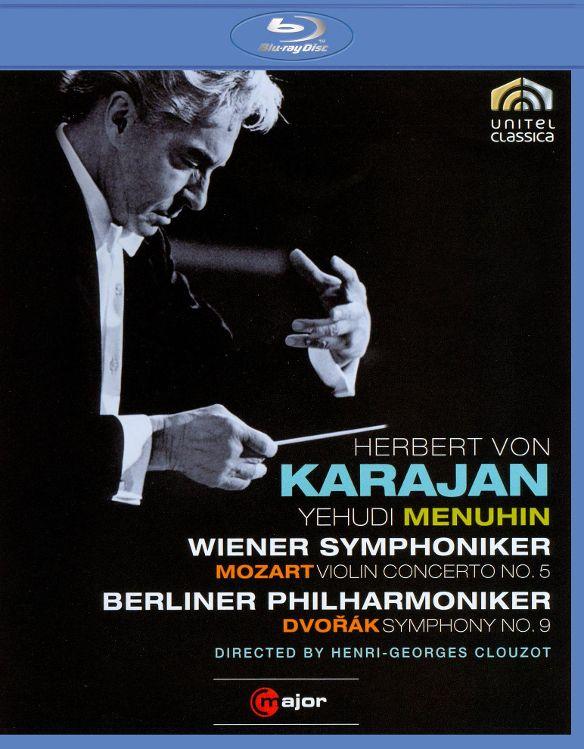 Herbert Von Karajan: Mozart - Violin Concerto No. 5/Dvorak - Symphony No. 9 [Blu-ray] [1966] 18892684