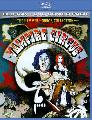 The Hammer Horror Collection: Vampire Circus [2 Discs] [Blu-ray/DVD] [1971] 18918356