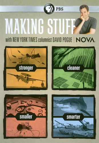 NOVA: Making Stuff [2 Discs] [DVD] 18934918