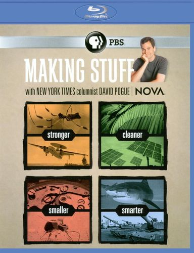 NOVA: Making Stuff [2 Discs] [Blu-ray] 18934927