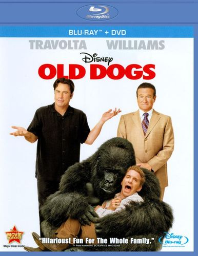 Old Dogs [2 Discs] [Blu-ray/DVD] [2009] 18942925